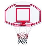 Баскетбольное кольцо большое со щитом из пластика.