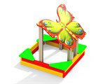 Песочница Бабочка МФ 3.04