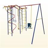 Детский спортивный комплекс  Пионер Вираж дачный со спиралью