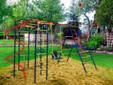 Детский спортивный комплекс Пионер Юнга дачный со спиралью