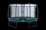 Батут Berg Elite+ Regular 430+ сетка безопасности T-series 430