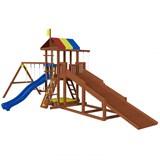 Детская площадка Джунгли 9 с зимней горкой