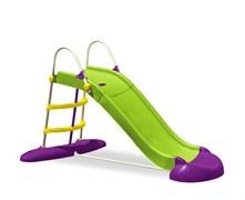 Детская пластиковая горка Веселый спуск Marian Plast 577