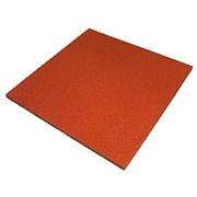 Резиновая плитка 500x500 (толщина 80 мм) кв м
