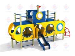 Детский игровой комплекс Подводная лодка Н=700 ДИК 2.39
