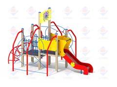 Детский игровой комплекс Паучок Н=900 ДИК 9.23