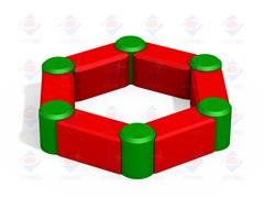 РМФ 3.01 - Песочница шестигранная