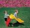 Детская пластиковая горка Дельфин Marian Plast 307 - фото 4453