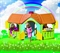 Детский пластиковый домик с двумя пристройками Marian Plast 666 - фото 6264
